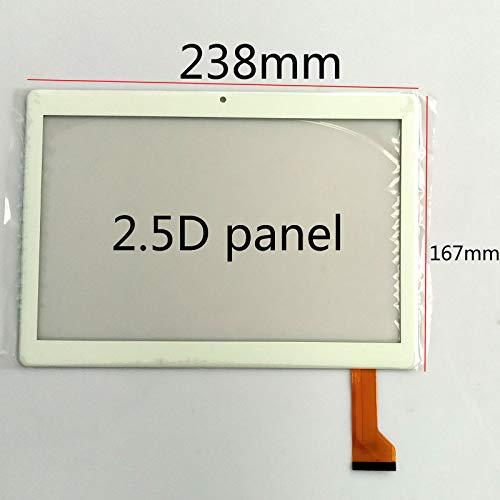 EUTOPING Negro Color Nuevo 10.1 Pulgadas CH-10114A5 J-S10 ZS 2.5D Panel Pantalla tactil Digital La sustitución de para Tablet