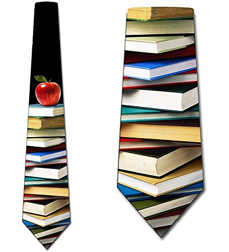 Corbatas Corbatas De Educación Hombre Profesor Libro Corbatas Corbatas Seda Corbatas,Largo145Cm