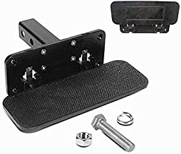 Rhino Storm Receiver Hitch Step Heavy Duty Trailer Fold-up Hitch Steps Replacement for 2 Inches Receiver Pickup Truck SUV