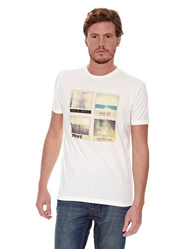 Merc T-Shirt Manches Courtes Evans écru S