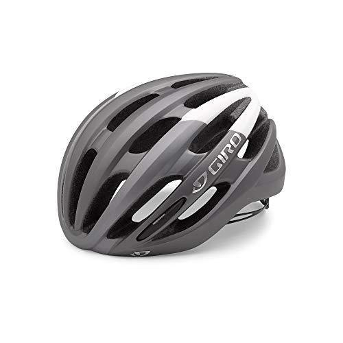 Giro Helm Foray, Matte Titanium/White, M (55-59 cm)