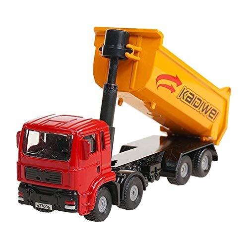 STBAAS Spielzeugauto, 1:72 Druckguss-Metall-Spielzeugauto-Alloy-Müllkippe LKW-Truck-Transporter Simulation Engineering Fahrzeug Modell Jungen und Mädchen kognitive Sammlung Geschenke