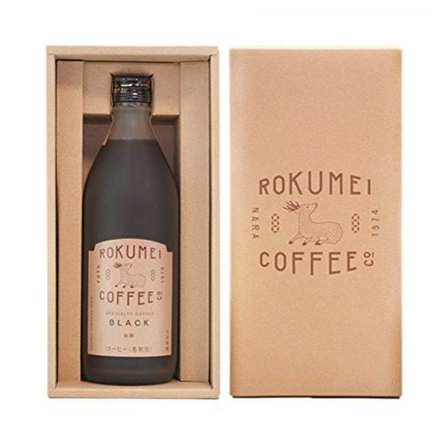 ロクメイコーヒー コーヒーギフト カフェベース 1本 ブラック 誕生日シール