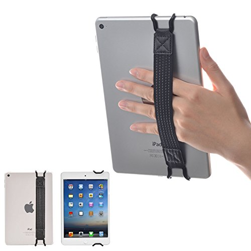 WANPOOL Universal Non-slip Hand Strap Grip Holder for iPads and Tablets - iPad Air 2 / Mini/Pro (9.7') - Samsung Galaxy Tab S3 – Fire Tablets and More