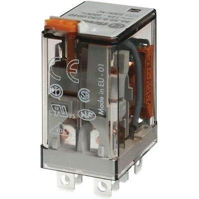 Power Relay, 3PDT, 230 VAC, 10 A, 55 Series, Socket, AC