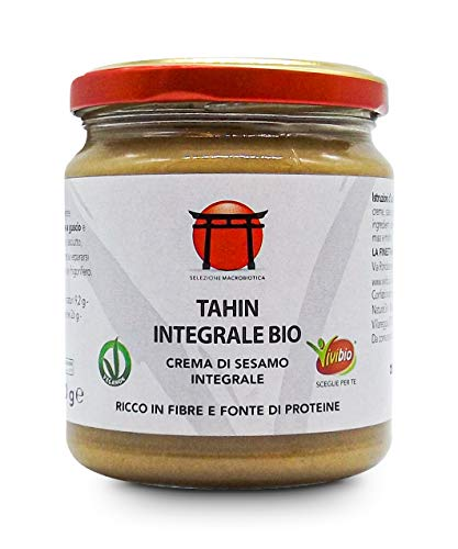 Vivibio Tahin Crema di Sesamo Integrale Bio, 300g