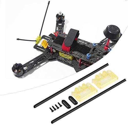 Dilwe Antennenbefestigung Sitzbefestigung, Empfänger Antenne Befestigung Sitzbefestigung Sockel für Mehrachs- / RC-Drohne