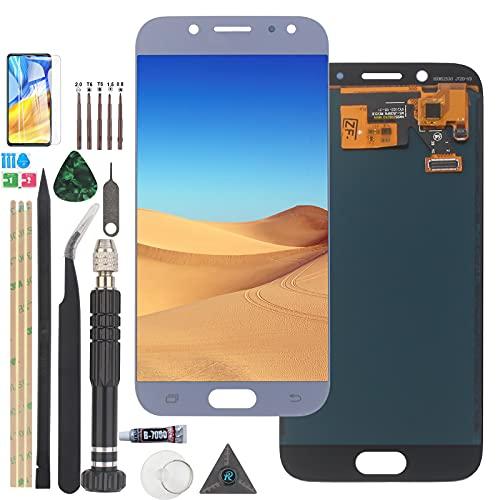 RongZy Pantalla para Samsung Galaxy J5 (2017) /J5 Pro J530 J530M J530F Pantalla Táctil LCD Kit de Pantalla de Repuesto Ensamblaje Digitalizador de Reemplazo con Herramientas(INCELL Azul)