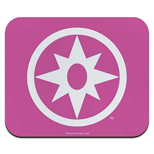 Green Lantern Blackest Night Star Sapphire Logo Low Profile Thin Mouse Pad Mousepad