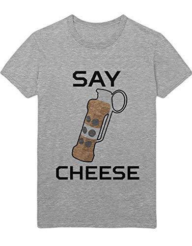 HYPSHRT Herren T-Shirt CS Say Cheese Z100155 Grau XL