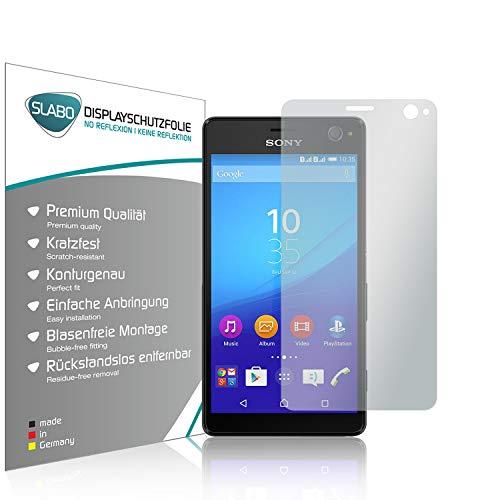 Slabo 4 x Bildschirmschutzfolie für Sony Xperia C4 Bildschirmfolie Schutzfolie Folie Zubehör No Reflexion MATT