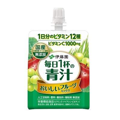 伊藤園 毎日1杯の青汁 おいしいフルーツミックス  パウチ 160g×6個