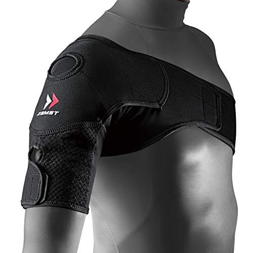 ザムスト(ZAMST) 肩 サポーター ショルダーラップ テニス 野球 Lサイズ 左右兼用 ブラック 374803