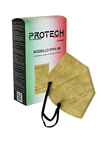 Protech Mascherine FFP2 MADE IN ITALY Certificate CE 2233 Filtraggio ≥98% Conformi EN 149:2001 + A1:2009. Confezionate singolarmente