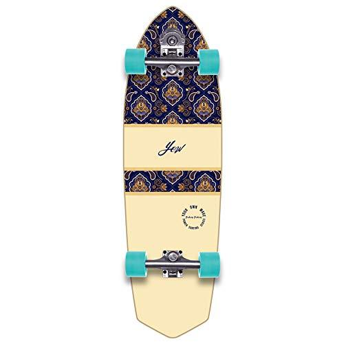 YOW Padang 34' Power Surfing Series Surfskate Skateboard, Adultos Unisex, Multicolor (Multicolor)