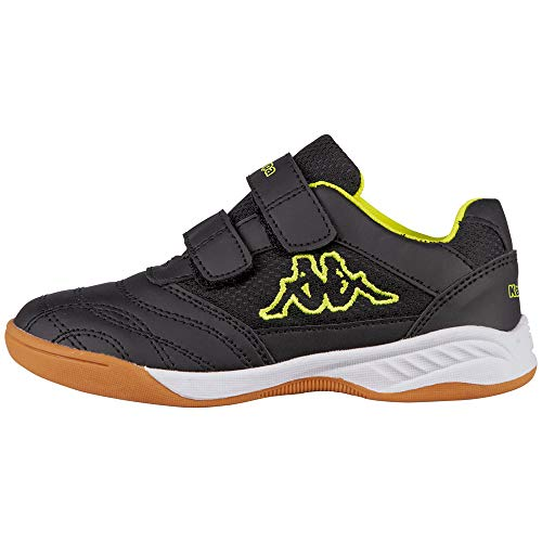 Kappa Kickoff Low-Top, 1140 Black/Yellow, 38 EU