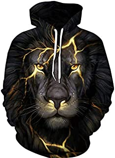 Colorful lion Hoodies For Women Men fashion Streetwear Clothing Hooded Sweatshirt 3d Print Hoody casual Pullover mm