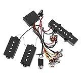 Circuit de ramassage guitare basse préampli câblage Circuit Pickup pour guitare basse électrique instrument de musique accessoire