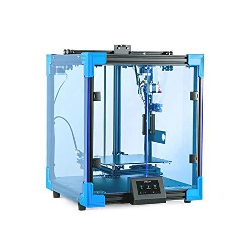 ASPZQ Creality Ender-6 DIY Kit Impresora 3D Controlador TMC2208 Velocidad de Impresión 3 Veces Más Rápida Estructura Core-XY Tamaño Impresión 250 * 250 * 400 Mm