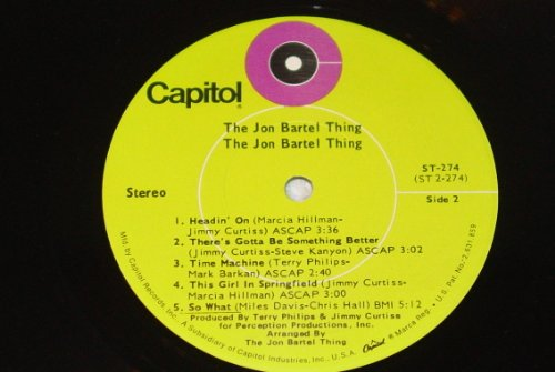 The Jon Bartel Thing