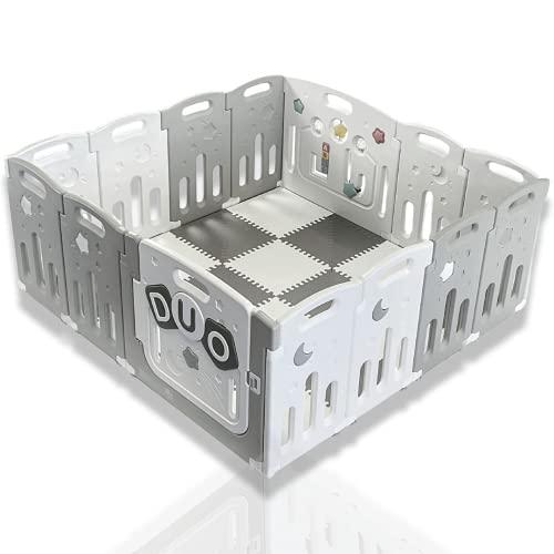 Venture All Stars Duo box per bambini Grigio Include tappetini e palline da gioco