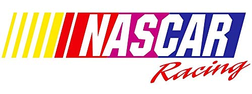 Set of 3 - NASCAR Racing - Sticker Graphic - Auto, Wall, Laptop, Cell, Truck Sticker for Windows, Cars, Trucks