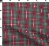 Fraser, Schottenmuster, Verwittert, Rot, Schottisch,