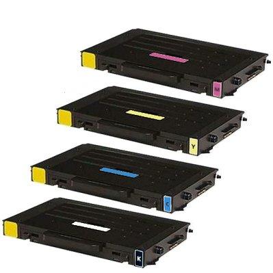 4x Kompatible Tonerkartuschen für Samsung CLP 510 CLP 510N CLP 510NG CLP 510R CLP 511G CLP 515 CLP 515N (alle Farben)