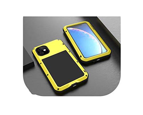 Carcasa de metal resistente al agua para iPhone 11, a prueba de golpes, suciedad, resistente al agua, para iPhone 11 Pro Max Caso