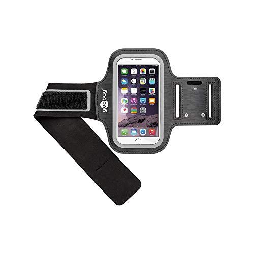 Goobay 46582 funda para teléfono móvil 12,9 cm (5.1') Brazalete caso - Fundas para teléfonos móviles (Brazalete caso, Universal, iPhone 6/Galaxy S5, 12,9 cm (5.1'))