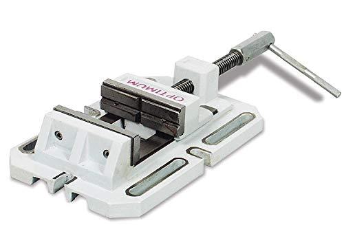Optimum Bohrmaschinenschraubstock BSI 200 (Backenbreite, Spannweite 200 mm, Prismenbacken), 3000220
