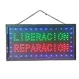 Letrero cartel Panel LED reparacion liberacion DOS boton encender luz luminoso señal LED (Reparacion)