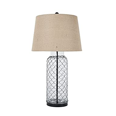 Ashley Furniture Signature Design Sharmayne Farmhouse Table Lamp L430114 - Clear