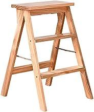 Familie opstapkrukje, Vouwstoelen Houten creatieve eenvoudige verstelbare stap kruk keuken kruk draagbare stap ladder dikk...