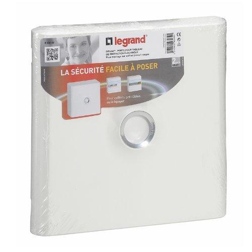 Legrand LEG93030 DRIVIA - Puerta para cuadro eléctrico (1 fila), color blanco
