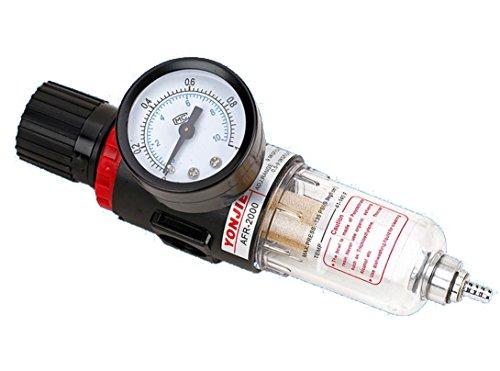 """Riduttore di pressione dell'aria compressa da 1/4"""", regolatore di pressione per compressore, componenti pneumatici, regolatore di pressione, filtro del processore del gas"""