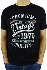 Camiseta My Generation Gifts 1970 Vintage Year - 50 Cumpleaños Años para Hombre