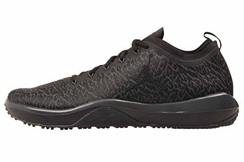Nike 845403-002 Chaussures de Basketball, Homme, Noir (Black/Black/Anthracite), 40 1/2