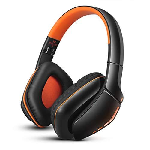 Xfc Opvouwbare bluetooth hoofdtelefoon, draadloze gaming headset met microfoon, geschikt voor PS4/pc/Mac/Smartphones/Computer