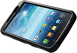Insten Tuff Dual Layer [Shock Absorbing] Protection Hybrid Stand PC/Silicone Case Cover Compatible with Samsung Galaxy Mega 6.3