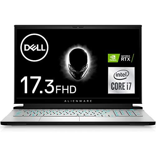 Dell ゲーミングノートパソコン ALIENWARE m17 R4 ルナライト Win10(English)/17.3 360Hz FHD/Core i7-10870H/32GB/1TB SSD/RTX3080/Webカメラ/無線LAN NAM9K7A-BHLE【Windows 11 無料アップグレード対応】