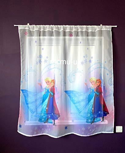 Disney voile net Curtain Frozen–Larghezza 75cm x lunghezza 150cm