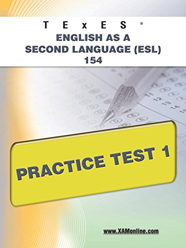 Compare Textbook Prices for TExES English as a Second Language ESL 154 Practice Test 1 TExES 1 First Edition, New edition Edition ISBN 9781607873228 by Wynne, Sharon A