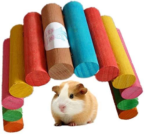 CNMYDZ Hamster Toy Rat Toy Toy Rat Toys and Accessories Toys de Madera Ratas Toys Toys Accesorios Pequeños Animales Formación Cause Accesorio Accesorio Cause Adjunto 18cm (Size : 20cm)