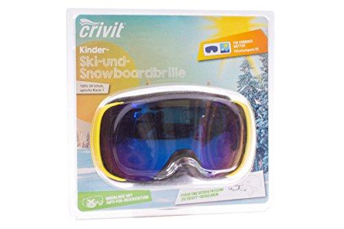 Crivit® Kinder Ski und Snowboardbrille Filter S3 100% UV Schutz Wintersport 277848