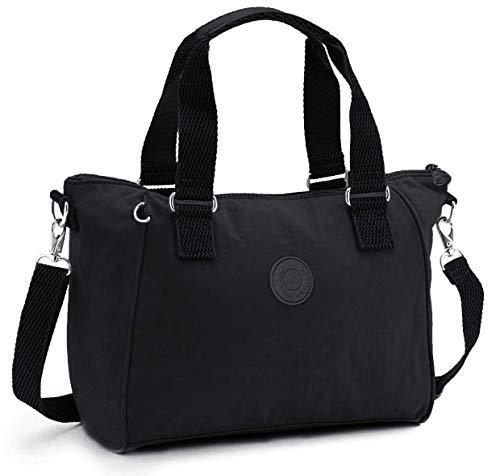 RERI Damen Umhängetaschen Handtasche Schultertasche für Alltag Büro Schule Ausflug Einkauf