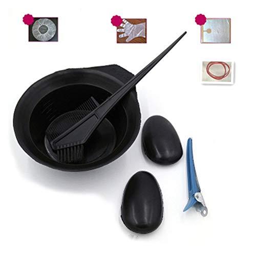 ARTIFUN Kit de Teinture Capillaire Peigne Professionnel de Teinture pour les Cheveux Brosse Cache-oreilles Coiffeur Bol de Coiffure Ensemble de Coloration des Cheveux
