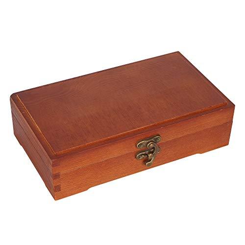 Fendysey Massive schwebende Schicht Holz Skizze Bleistift Box, Holz Schreibwaren Box, Bleistift Etui Briefpapier Fall Skizze Anzug für Schmuck