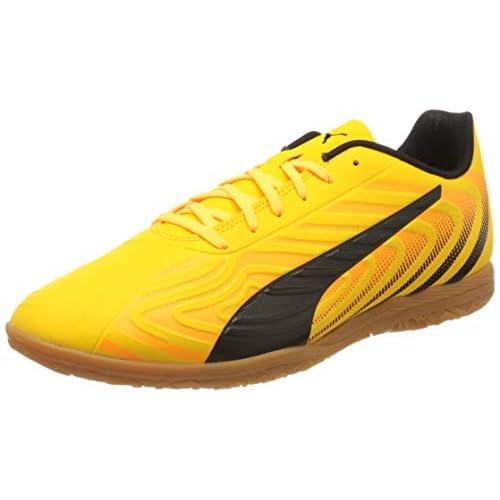 PUMA One 20.4 IT, Scarpe da Calcio Uomo, Giallo (Ultra Yellow Black-Orange Alert-Gum), 46 EU