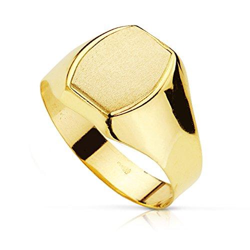 Sello caballero Davide. Oro amarillo 18 kilates - Personalizable, grabado incluido